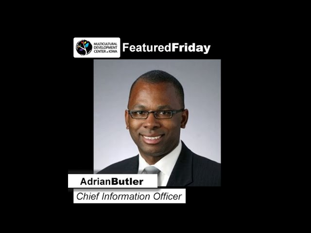 Featured Friday: Adrian Butler