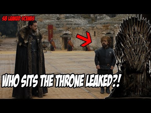 Who Sits The Throne LEAKED! Game Of Thrones Season 8 (Leaked Scenes)