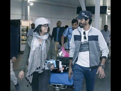 Sivakarthikeyan and Keerthy Suresh arrive at Melbourne Airport, Australia