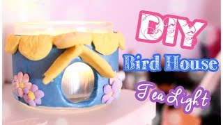 Diy Bird House Tea Light