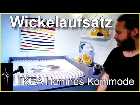 Wickelaufsatz IKEA Hemnes Kommode (oder andere Möbel)