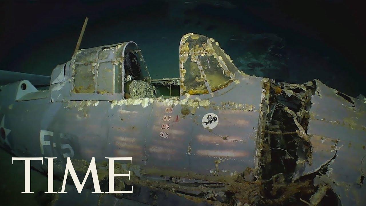 Microsoft Co-Founder Paul Allen Finds Lost World War II Aircraft Carrier The USS Lexington | TIME