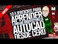 🌟🌟🌟🌟🌟 AutoCAD para PRINCIPIANTES | tutorial en ESPAÑOL | Curso ARQUITECTURA 2D desde CERO 👩🎓👨🎓
