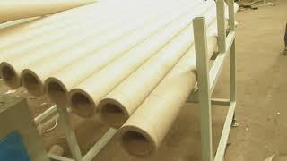 станок для производства бумажных втулок, гильз разных диаметров