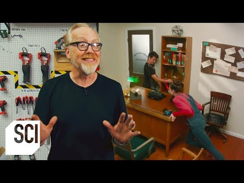 Bo and Jim - Mythbusters Jr. - Can You Barricade a Door with Furniture?