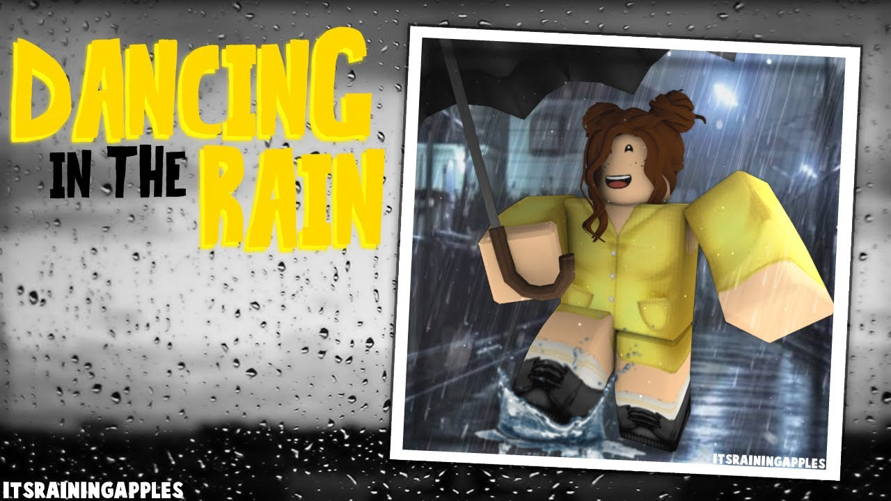 Roblox Speed Edit Dancing In The Rain Youtube