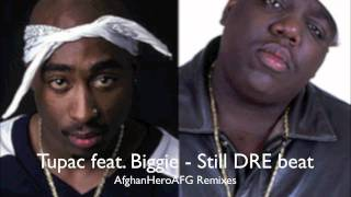 Tupac feat.  Biggie - Still Dre Beat (REMIX) NEW 2011