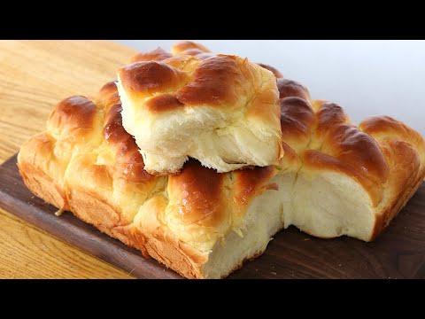 經典老式麵包:教你家庭配方,做法詳細簡單易學,細膩柔軟又拉絲【夏媽廚房】