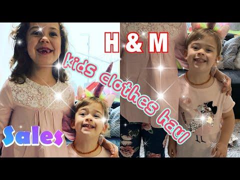 H & M kids clothes haul/sales/bargains