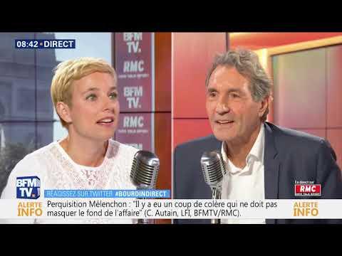 Clémentine Autain face à Jean Jacques Bourdin