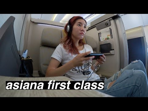 ✈️ Flying First Class with Asiana Airlines?!