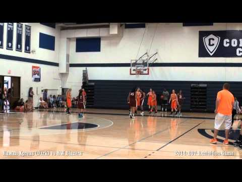 Hawaii Xpress vs NW Blazers Heat-2014 EOT Exhibition Game