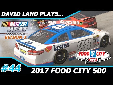 [20 YEARS OF TRYING] 2017 Food City 500 NASCAR Heat Evolution Career Mode [S2 Race #8]