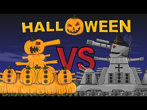 """""""HALL 44 Vs GT 44 Halloween Special"""" Cartoons About Tanks"""