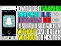 How To Get Tweaked Snapchat Blue ++ & Instagram Red ++ (NO Jailbreak NO Computer) iPhone, iPad, iPod