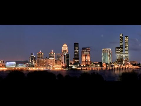 A History of Louisville, Kentucky Documentary Part # 1 of 2 1883 - 1963