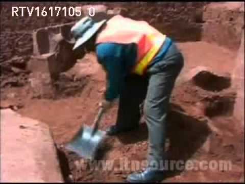 BOLIVIA  Archaeologists discover new keys to ancient civilisation in Tiwanaku excavations