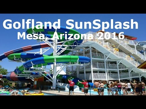 Golfland Sunsplash / Mesa, Arizona 2016