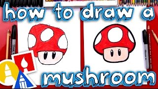 How To Draw A Mario Mushroom