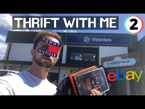THRIFT WITH ME | Australian Stores! TOMMY HILFIGER