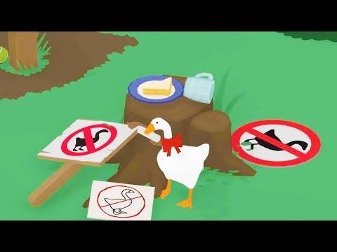 ГУСЬ КЛЕПТОМАН И БАБКА ЖАДЮГА Володя в Не названнная игра про гуся | Untitled Goose Game | Гусь гейм