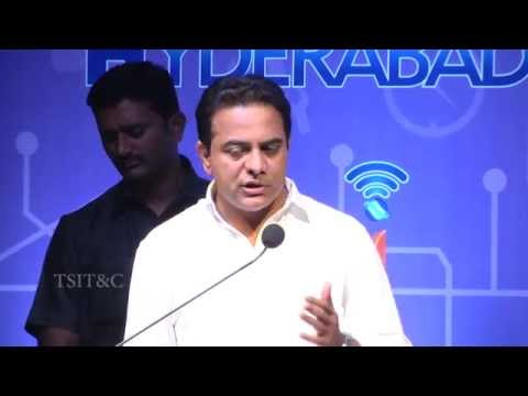 KT Rama Rao launched Pilot of Hyderabad WiFi.
