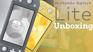 Nintendo Switch Lite Unboxing und Ersteindruck   RBTV Unboxing
