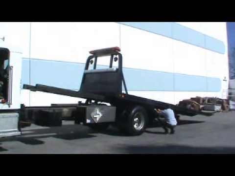 how to build a rollback truck bed