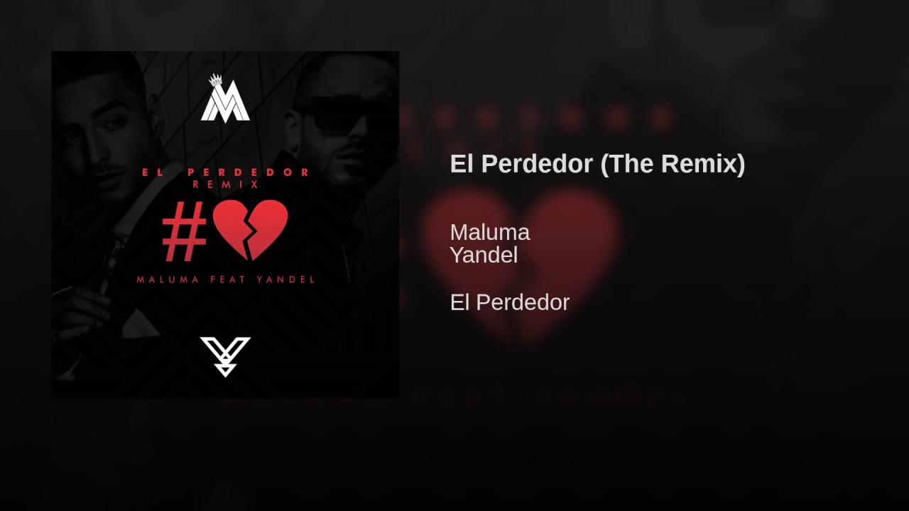 Download El Perdedor [RMX] - Maluma Ft. Yandel [Audio]