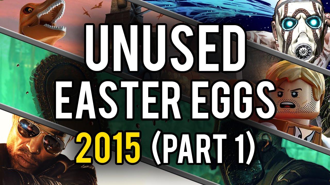 Best Unused Video Game Easter Eggs of 2015 (Part 1) - YouTube