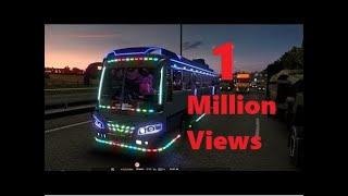 Ashok Leyland Bus Mod | Euro truck Simulator 2 | Indian Bus Mod | Rajasthan tourism Bus