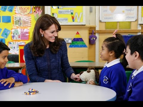 The Duchess of Cambridge supports Children's Mental Health Week 2016