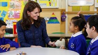 The Duchess of Cambridge supports Children's Mental Health Week 2016