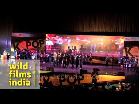 Korean band N Sonic at K-Pop Festival 2014 Grand Finale - India