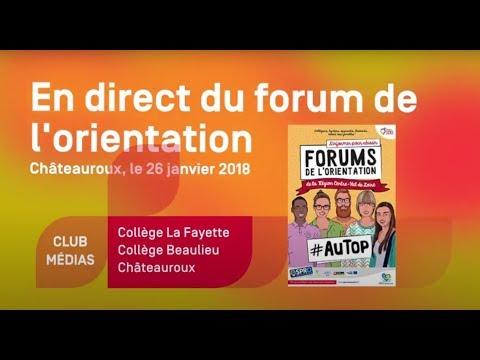 En direct du forum de l'orientation 2018