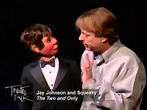 Ventriloquist Jay Johnson & Christian Hoff of 'Jersey Boys'