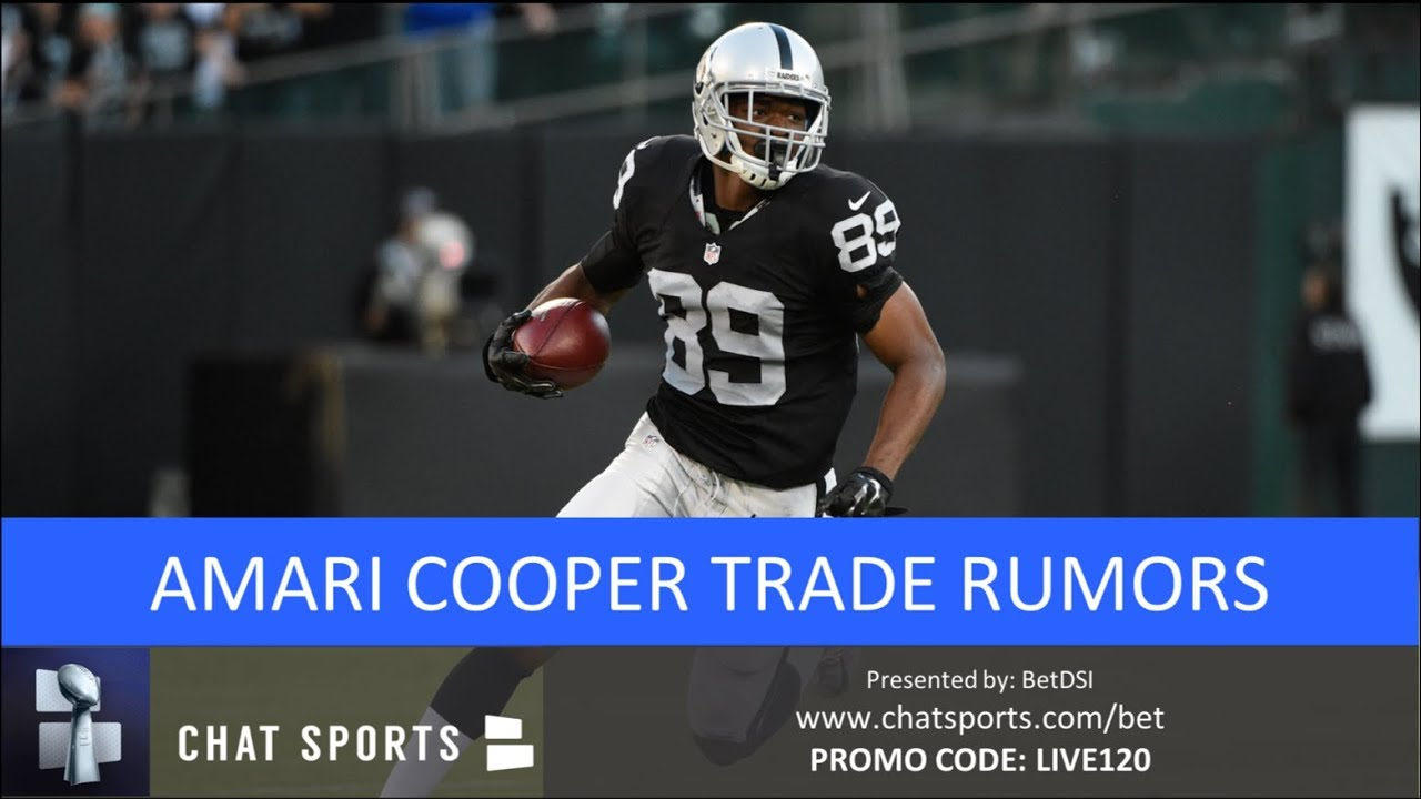 new concept eec72 bd1dd Amari Cooper Trade: Cowboys, Colts & Redskins Among NFL Teams Interested