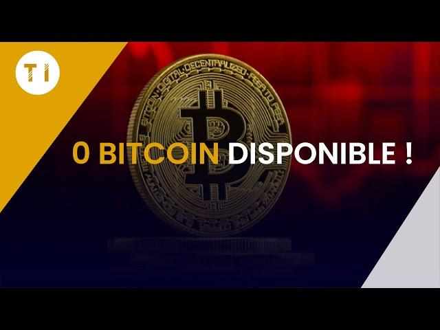 Il ne reste plus aucun bitcoin disponible !