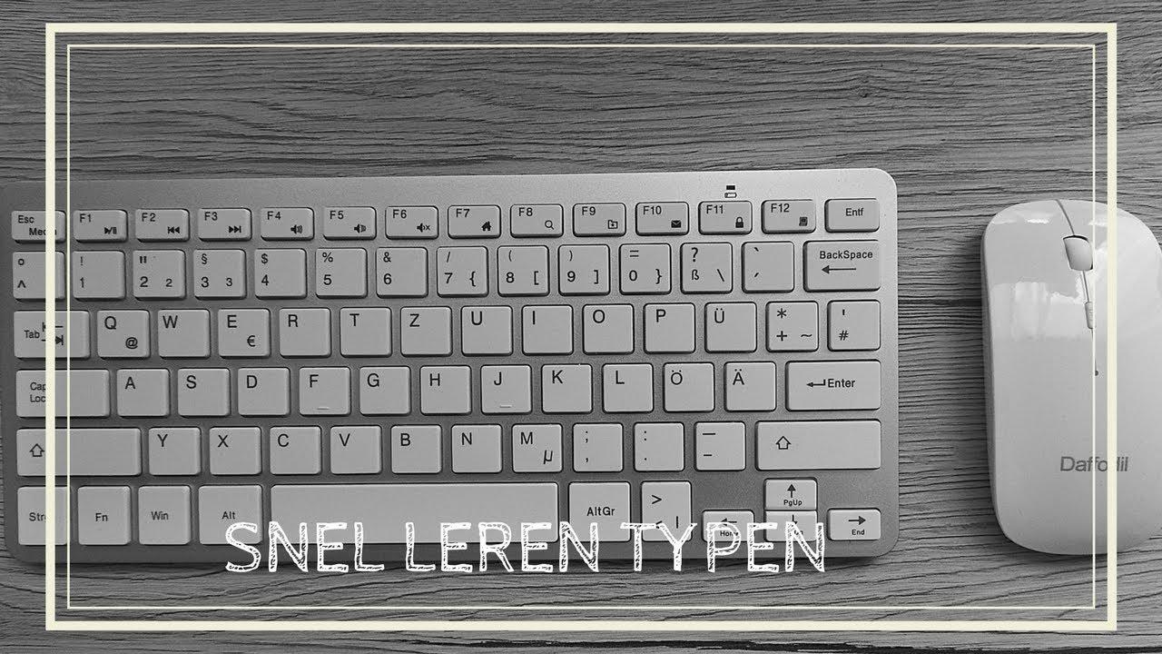 Download HOW TO: SNEL LEREN TYPEN | Hoe plaats je je handen?
