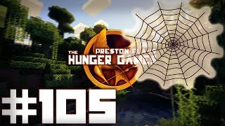 EPIC WEB TRAP! - Minecraft: Hunger Games w/Preston & Woofless #105