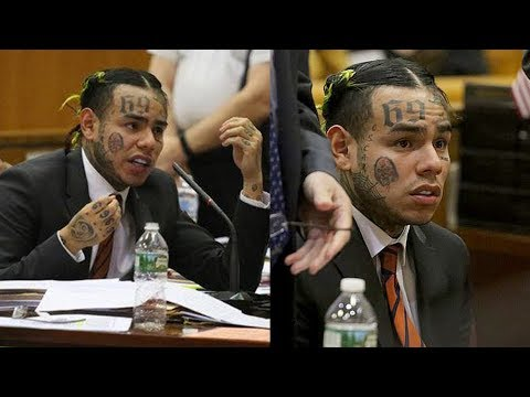 """6IX9INE Apologizes In Court & Snitches On TREYWAY.. """"We Robbed, Sold Drugs & More I'm Sorry"""""""