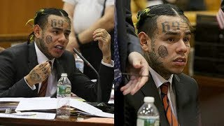 "6IX9INE Apologizes In Court & Snitches On TREYWAY.. ""We Robbed, Sold Drugs & More I'm Sorry"""