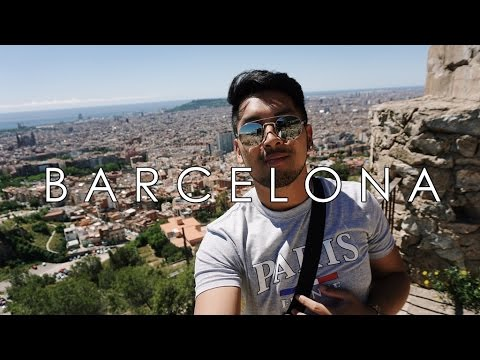 Barcelona Travel Vlog feat. RIP Camera