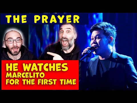 Marcelito Pomoy The Prayer His First Time Reaction (agt Finalist)