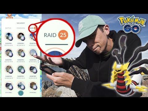 GIRATINA ORIGIN FORME RAID DAY CONFIRMED! (Pokémon GO Legendary Raids) thumbnail