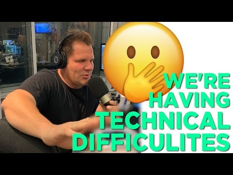In-Studio Videos - Technical Difficulties & Some Weird New Stephan King Movie...