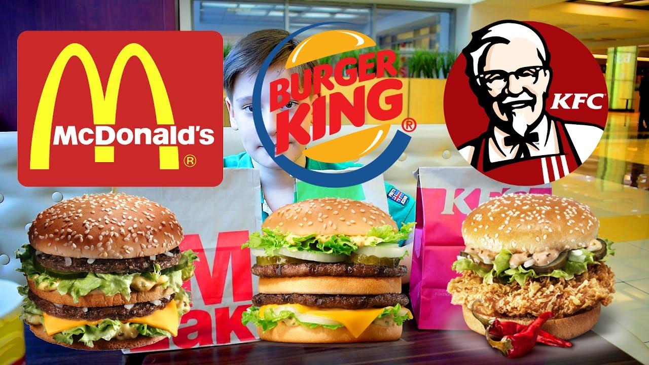 mcdonald s vs burger king