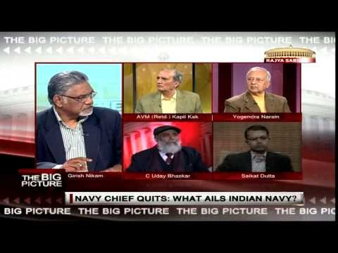 The Big Picture - Navy Chief Admiral D K Joshi quits: What ails the Indian Navy?