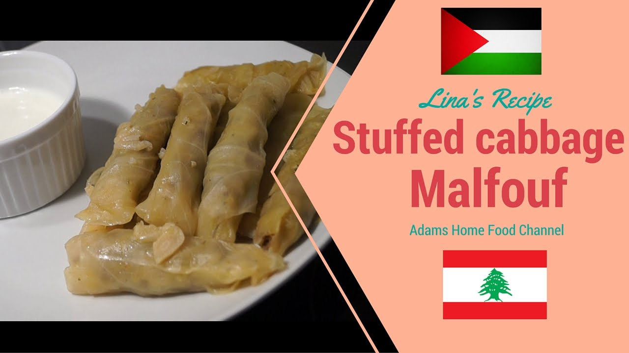 Arabic foodbest stuffed cabbage malfouf food travel youtube forumfinder
