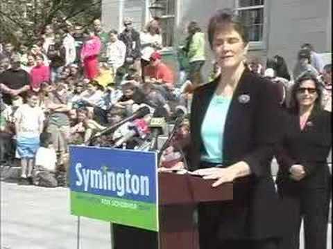 Gaye Symington announces for VT Governor Part 1